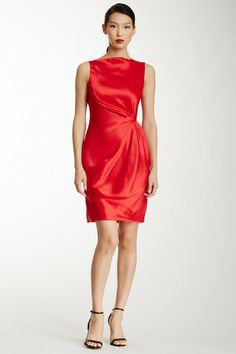 MAXSTUDIO.COM Tucked Detail Dress on HauteLook