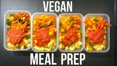 VEGAN MEAL PREP | Cheap, Healthy Meals
