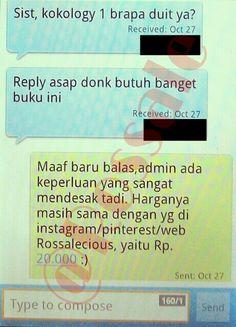 Salah satu SMS transaksi terkini (1).