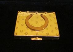 Vintage Compact  Paul Flato Powder Compact by classiccollector