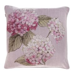 Pentik Finland Toss Pillows, Hydrangea, Decorative Pillows, Projects To Try, Cushions, Quilts, Embroidery, My Favorite Things, Pretty