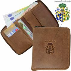 Card Wallet, Card Case, Rind, Brown Leather, Card Holder, Pouch, Baron, Organizers, Accessories