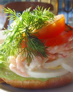 """Räksmörgås"" (shrimp sandwich) as we call it in swedish. Photo by Danne Eriksson http://todayspicture.se"