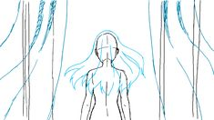 YCH animation - Wait for me by Rikeza on DeviantArt Animation Storyboard, Animation Sketches, Drawing Sketches, Cute Drawings, Anime Poses Reference, Animation Reference, Animation Tutorial, Art Poses, Character Design Animation