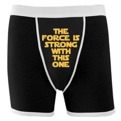 The Star Wars Force Is Strong With This One: Dirty Laundry Mens Underwear