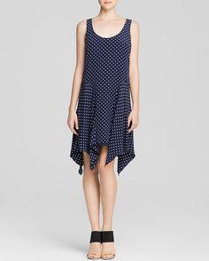 Lauren Ralph Lauren Polka Dot Silk Dress - Bloomingdale's Exclusive | Bloomingdale's