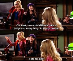"""How cute""! Legally Blonde - Movie Quotes #legallyblonde #legallyblondequotes"