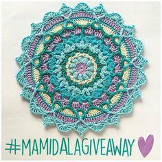 @Regrann from @bymamidk -  #mamidalagiveaway  #bymamidk #crochet #crochetlove #crochetaddict #crochetersofinstagram #craftastherapy #hækle #hæklenørd #hæklerier #haken #häkeln #handmade #hekla #hekle #hekleglede #virkat #haakgeluk #ganchillo #croche #crochetconcupiscence #makersgonnamake #craftsposure #mandalaart #mandala #crochetmandala #hækletmandala by 78th.stitch