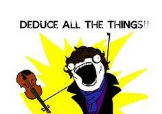 Sherlock. I like how his cheekbones are drawn onto the cartoon, because his cheekbones are just cool XD