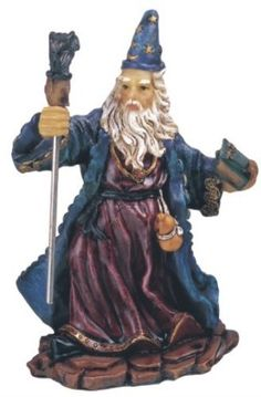 StealStreet SS-G-71154 Wizard Magician Collectible Fantasy Decoration Figurine Statue Model * Save this wonderfull product : Christmas decor
