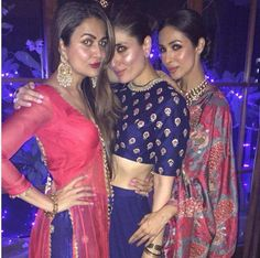 Hotness Alert: Kareena and the gang send the temperature soaring at #Diwali festivities!