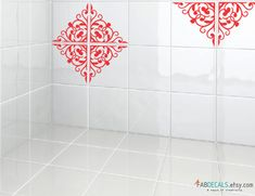 Decorative Tile Stickers Bathroom Solid Colors Tile Stickers  Kitchen Backsplash Tiles  Bathroom