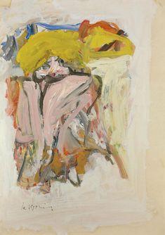 Willem de Kooning (1904-1997) Snake Charmer 1967 (86,3 x 61 cm)
