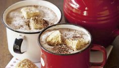 Lovely hot chocolate recipe a la Fresh Living magazine! What Is Winter, Fat Free Milk, Sandwich Spread, Thing 1, Hot Chocolate Recipes, Living Magazine, Recipe Search, Winter Warmers, Cocktails