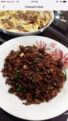 Discover what are Chinese Meat Food Preparation Healthy Meats, Healthy Meat Recipes, Entree Recipes, Asian Recipes, Dinner Recipes, Cooking Recipes, Minced Meat Recipe, Beef Dishes, Meat Dish