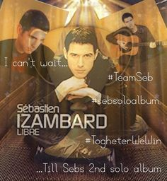 Thanks to my teammate @carotje1987 for sharing your excitement Who is excited? I am!!! #SebSoloAlbum #TeamSeb #TogheterWeWin!!!!