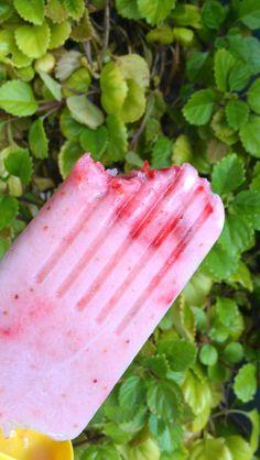 Strawberry-Blood Orange Creamsicles Recipe — Dishmaps