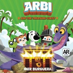 ARBI and the Treasure Chest - Augmented Reality Book by I...