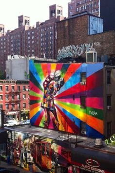 Highline graffiti art...  AWP Loves this. websites for artists $4.95/manth www.artistwebsitepro.com