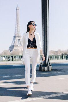 CLOSET CRACK | Effortless & Monochromatic Style | Shop now at closetcrack.com All white