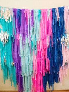 May 2020 - Excited to share this item from my shop: 4 Piece- 8 feet Tablecloth Fringe Backdrop \ Streamer Backdrop, Party Streamers, Wall Backdrops, Crepe Paper Backdrop, Photo Backdrops, Plastic Tablecloth Backdrop, Tablecloth Diy, Tissue Paper Garlands, Custom Tissue Paper