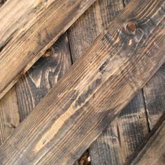 Good to know!! How to make new wood look weathered !