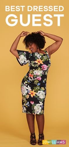 Heading to a wedding? Be less wallflower, more wild flower in our new season occasion wear collection.