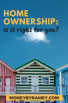 Home ownership. The pinnacle of the American Dream. The formula goes something like this: you graduate college with an egregious amount of student deb Ways To Save Money, How To Get Money, Money Saving Tips, How To Find Out, Managing Money, Financial Success, Financial Planning, Frugal Living Tips, Frugal Tips