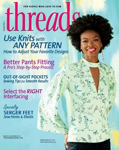PANTS FITTING Threads Magazine | Issue #195 [Feb/Mar 2018]