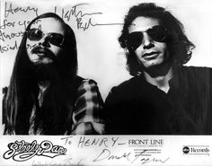STEELY DAN: Donald Fagan and Walter Becker