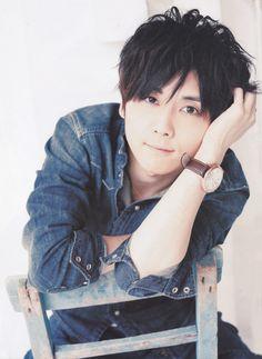 Kaji Yuuki. He is so adorable, I want to eat him up~