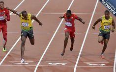Lightning Stikes TwiceUsain Bolt, wins 100m