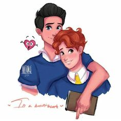 In a heartbeat❤ Cute Gay Couples, Movie Couples, Tumblr Gay, Cute Couple Drawings, Pansexual Pride, Lgbt Memes, The Fault In Our Stars, Fanart, My People