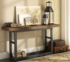 Our stylish Metropolitan console adds organization to busy family living spaces