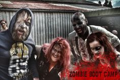 ZOMBIE BOOT CAMP: TURNING LAMBS INTO LIONS SINCE 2011. The UK's Number 1 Horror Event. www.zombiebootcamp.co.uk