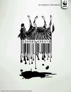 WWF - No commerce with animals > Act now. Conserve the animals and respect this planet. That simple.