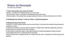 Exemplo Roteiro Coaching MeuEstiloDecor