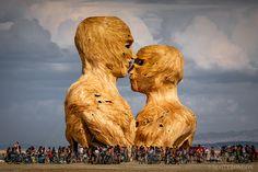 Embrace at Burning Man 2014