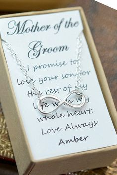 Mother of the groom gift mother in law by thefabjewelrywedding