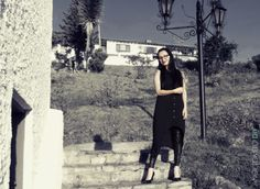 Cómo vestir color negro al estilo gótico y rockero.