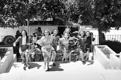 Girls Runing to School | the PhotoHouse, Israel Historical Archive Shop