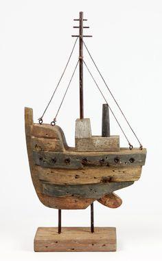 Driftwood Boat | eBay