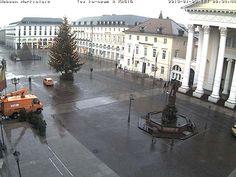 Webcam am Marktplatz, Karlsruhe, Germany