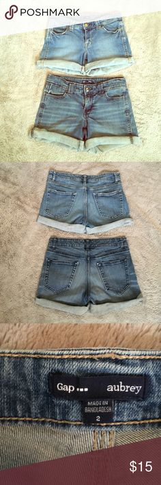 GAP Denim Shorts (Bundle) Size 2. Crear condition. Feel free to make an offer. GAP Shorts Jean Shorts