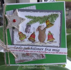 Fasters korthus: house mouse christmas card 1