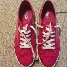 Selling this Coach Sneakers in my Poshmark closet! My username is: daymarco. #shopmycloset #poshmark #fashion #shopping #style #forsale #Coach #Shoes