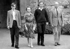 princess alice duchess of gloucester | the Duke and Duchess of Gloucester with sons Richard and William  1960's