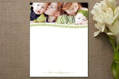 Family of Note Personalized Stationery by community designers at minted.com