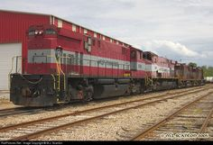 RailPictures.Net Photo: WTNN 3560 West Tennessee Railroad MLW M420W at Jackson, Tennessee by M.J. Scanlon