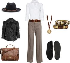 """""""Indiana Jones inspired look"""" by rita707 on Polyvore"""